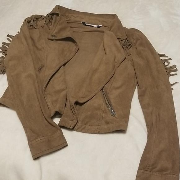 Brown Abercrombie jacket